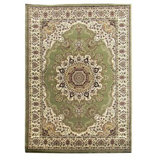 Tiffany 161 Sage Green Area Rug (5'x7')
