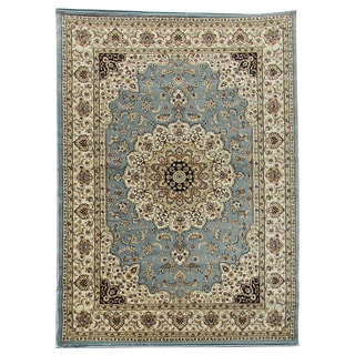 Tiffany 166 Sky Blue Area Rug (5'x7')