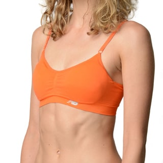 New Balance Women's Golden Poppy T-shirt Sports Bra