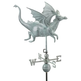 Good Directions Dragon Blue Verde Copper Weathervane