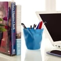 Lava Blue Modern Pencil Holder