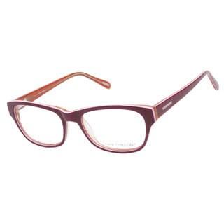 Kam Dhillon 3054 Red Prescription Eyeglasses