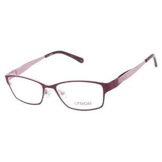 Ltede 1712 Maroon Prescription Eyeglasses