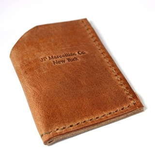 Rustic Harness Leather Credit Card Holder
