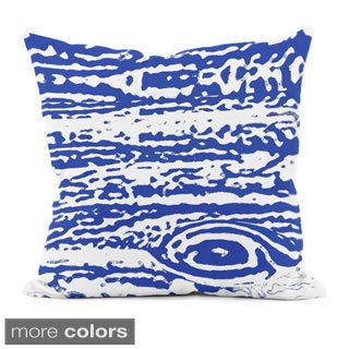 20x20-inch Hypoallergenic Faux Down Abstract Throw Pillow