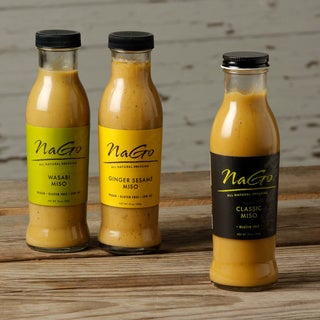 Nago All Natural Miso Dressings Assortment (Pack of 6)