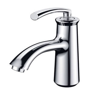 Elimax Luxury Short Chrome Single-handle Bathroom Lavatory Faucet