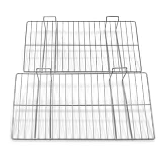 Proslat 12x24-inch Silver Wire Shelf (Pack of 2)