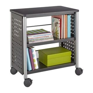 Scoot Personal Black Bookcase