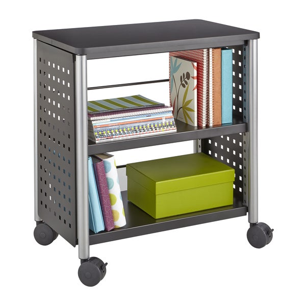 Scoot Personal Black Bookcase