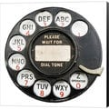 GI ArtLab 'Rotary Dial' Museum-wrapped Canvas Art