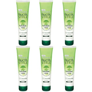 Garnier Fructis Pure Clean 5.1-ounce Smoothing Cream (Pack of 6)