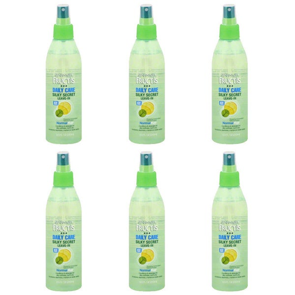 Garnier Silky Secret Daily Care 8.5-ounce Leave-In Conditioner (Pack of 6)