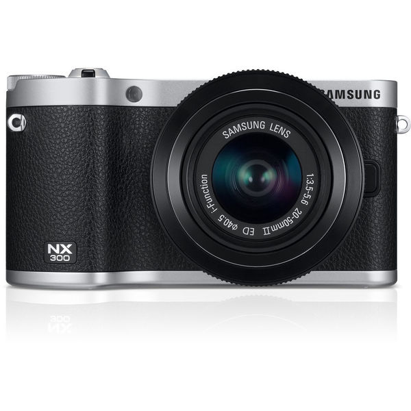 Samsung NX300 20.3 Megapixel Mirrorless Camera (Body with Lens Kit) -