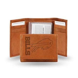 Buffalo Bills Leather Embossed Tri-fold Wallet