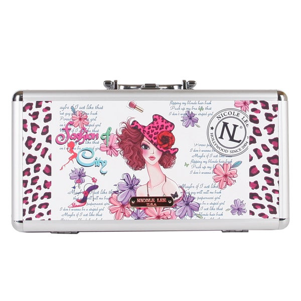 Nicole Lee Sunny White Priscilla Travel Brush Case
