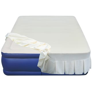 Airtek Flocked 20-inch Queen-size Airbed with Skirted Sheet Cover
