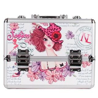 Nicole Lee Sunny White Priscilla Travel Cosmetic Case