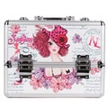 Nicole Lee Sunny White Priscilla Travel Cosmetic Case