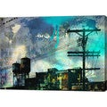 GI ArtLab 'City Scrim B' Canvas Wall Art