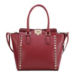 Women's Ann Creek Canbery Leather Tote Burgundy