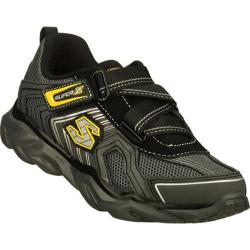 Boys' Skechers Revel Black/Charcoal/Yellow
