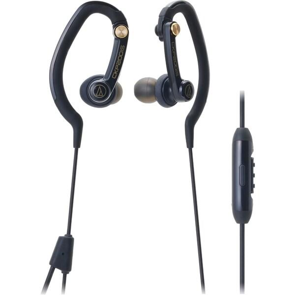Audio-Technica ATH-CKP200iS SonicSport In-Ear Headphones for Smartpho