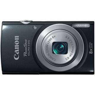 Canon PowerShot 135 16MP Black Digital Camera