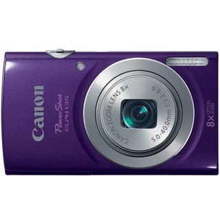 Canon PowerShot 135 16MP Purple Digital Camera