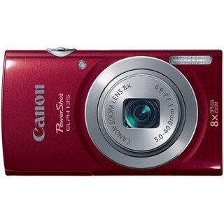 Canon PowerShot 135 16 Megapixel Compact Camera - Red