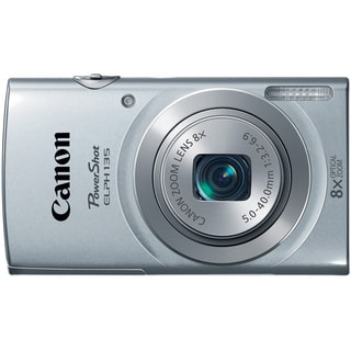 Canon PowerShot 135 16MP Silver Digital Camera