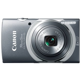 Canon PowerShot 140 IS 16 Megapixel Compact Camera - Gray