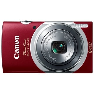 Canon PowerShot 140 IS 16 Megapixel Compact Camera - Red