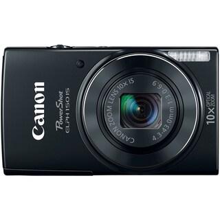 Canon PowerShot 150IS 20MP Black Digital Camera