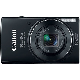 Canon PowerShot 150IS 20MP Black Digital Camera