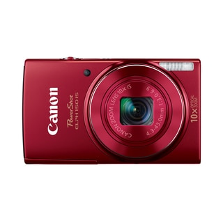 Canon PowerShot 150IS 20MP Red Digital Camera