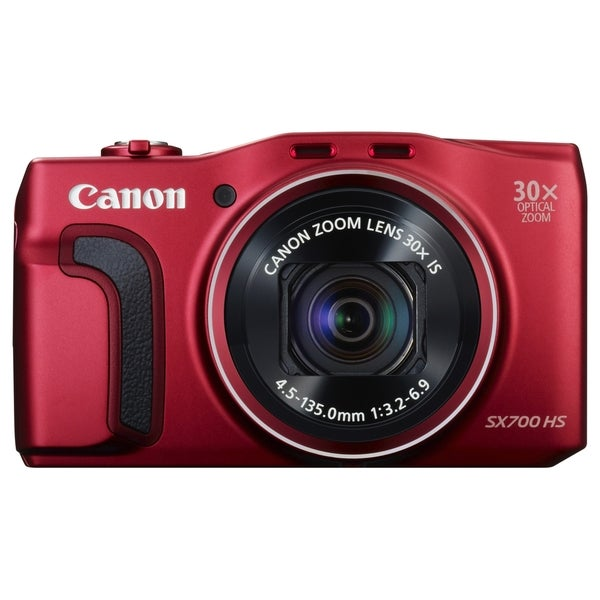 Canon PowerShot SX700 HS 16.1 Megapixel Compact Camera - Red