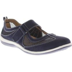 Women's Spring Step Outrun Navy Suede