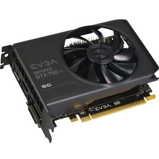 EVGA GeForce GTX 750 Ti Graphic Card - 1176 MHz Core - 2 GB GDDR5 SDR
