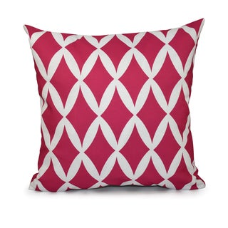 20x20-inch Geometric Decorative Throw Pillow