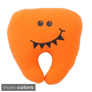 Superflykids 'Sharky' Plush Fleece Tooth Pillow