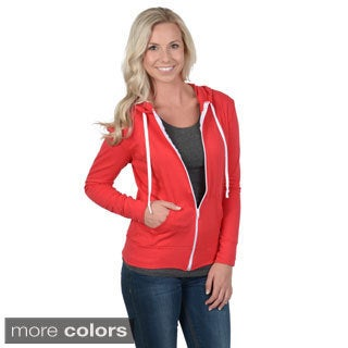 Fashion Corner Junior's Long Sleeve Zip-up Hoodie