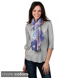 Journee Collection Women's Fashion Print Scarf