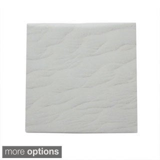 Modern Ceramic Wall Tile Textured Sand Print (Pack of 20)