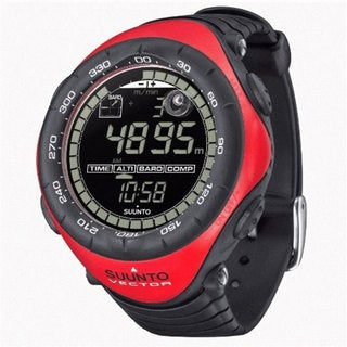 Suunto 'Vector' Red Bezel Digital Watch