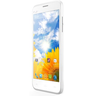 BLU Dash 5.0 D410a Unlocked GSM Dual-SIM White Android Phone