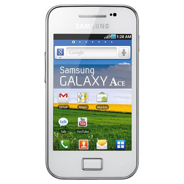 Samsung Galaxy Ace S5831 Unlocked GSM White Android Phone