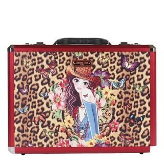 Nicole Lee Sandra Priscilla Aluminium Briefcase