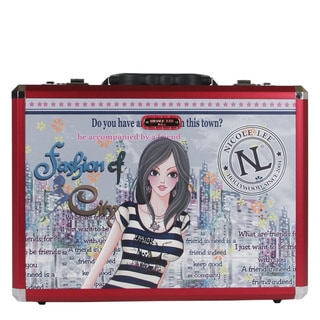 Nicole Lee Dolly Priscilla Aluminum Briefcase