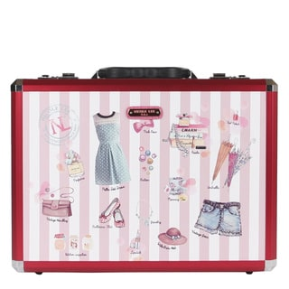 Nicole Lee Doll House Priscilla Aluminium Briefcase